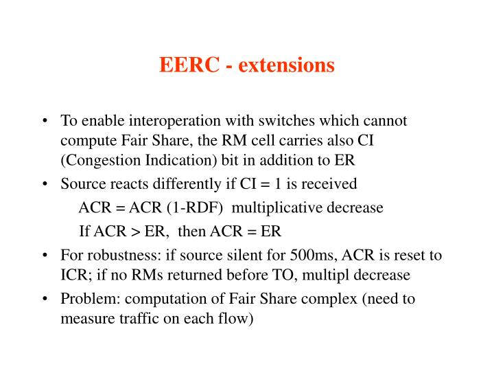 EERC - extensions