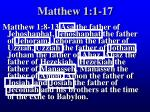 matthew 1 1 1726