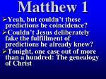 matthew 112