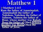 matthew 167