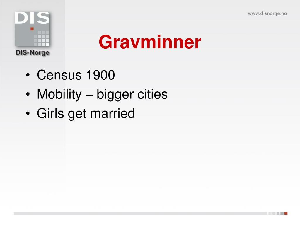 Gravminner
