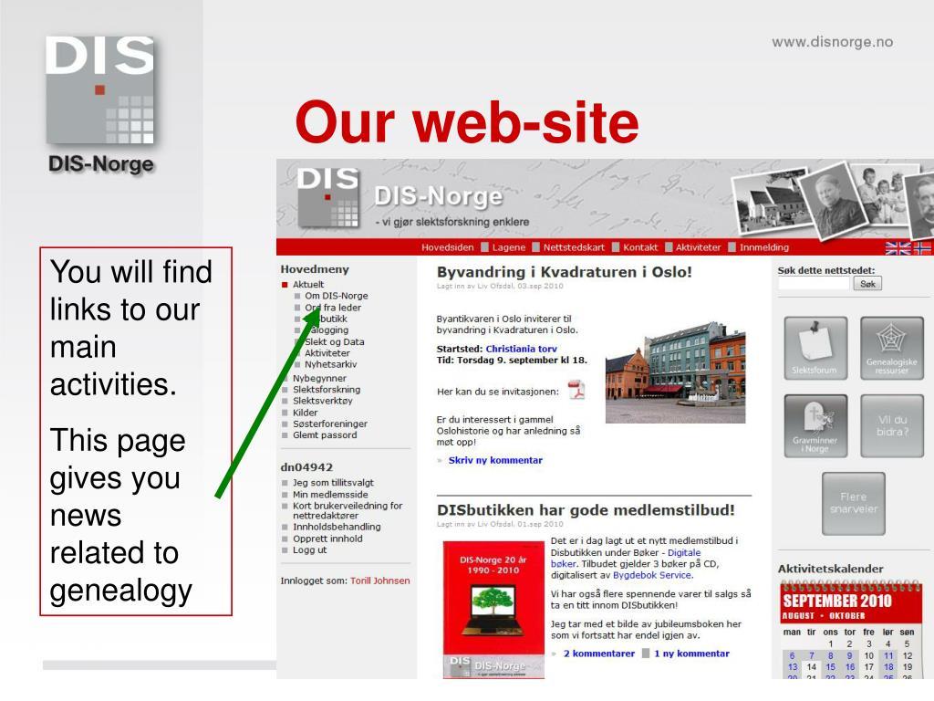 Our web-site