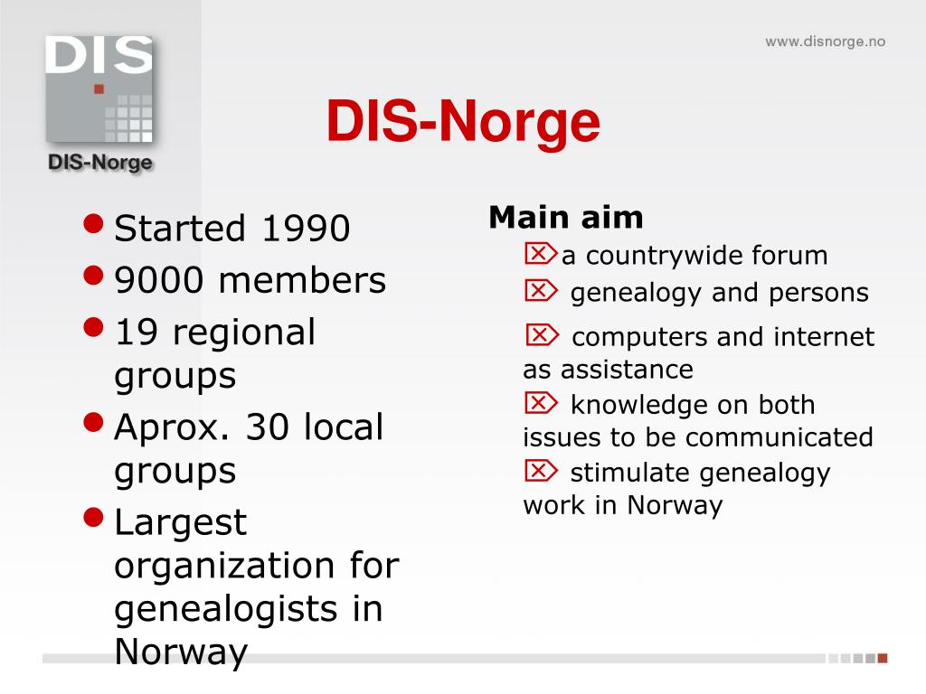 DIS-Norge