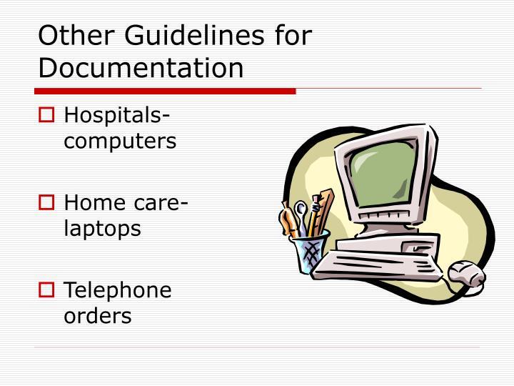 Hospitals- computers