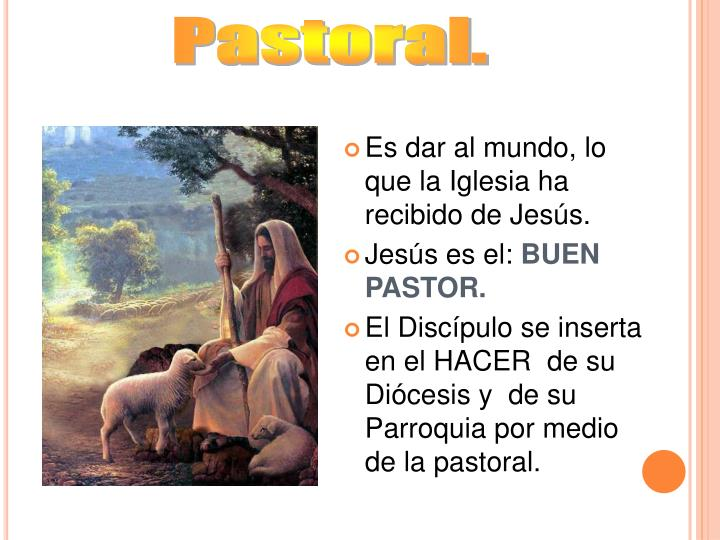 Pastoral.