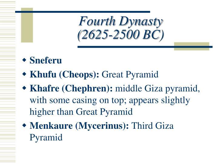 Fourth Dynasty