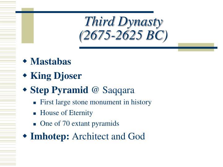 Third Dynasty