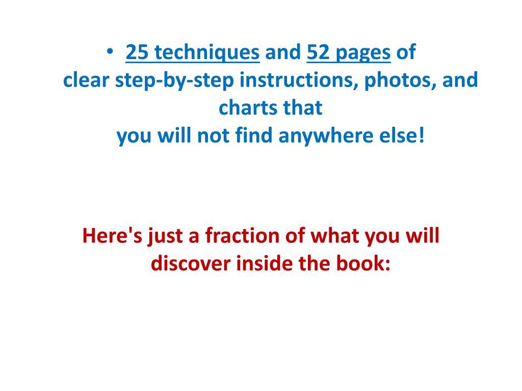 25 techniques