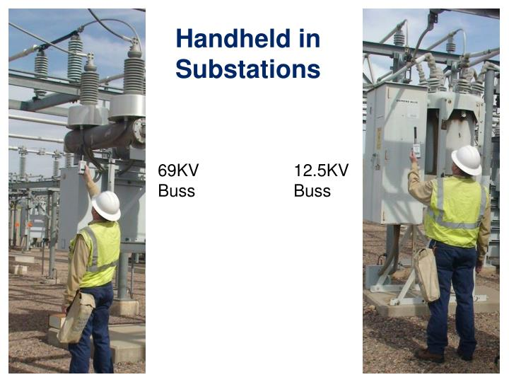 Handheld in Substations