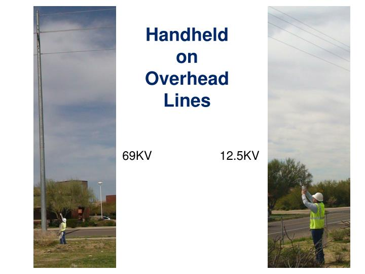 Handheld on Overhead Lines