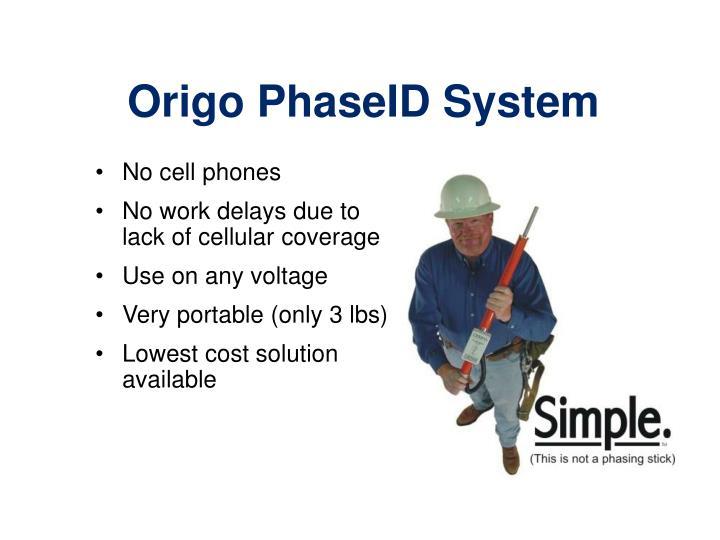 Origo PhaseID System