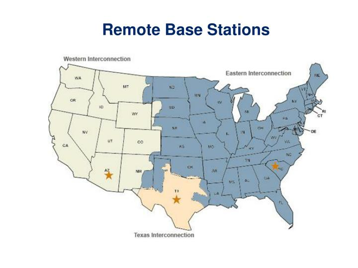 Remote Base Stations