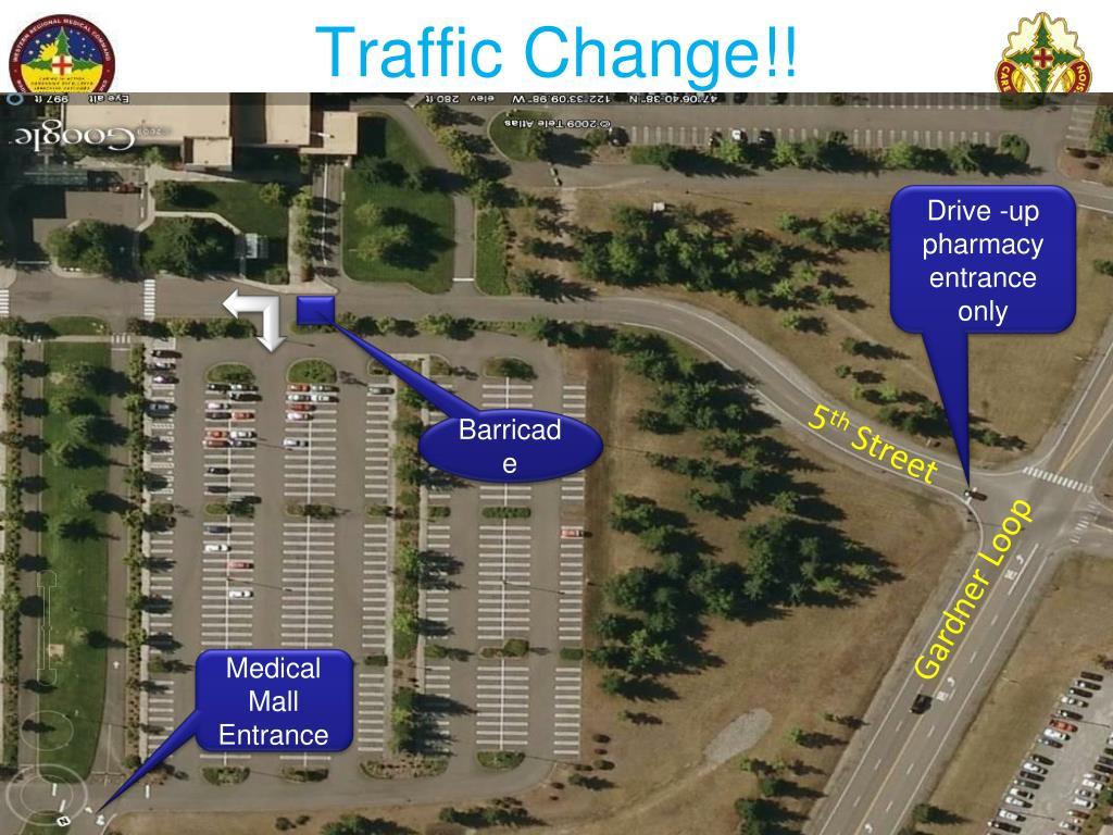 Traffic Change!!