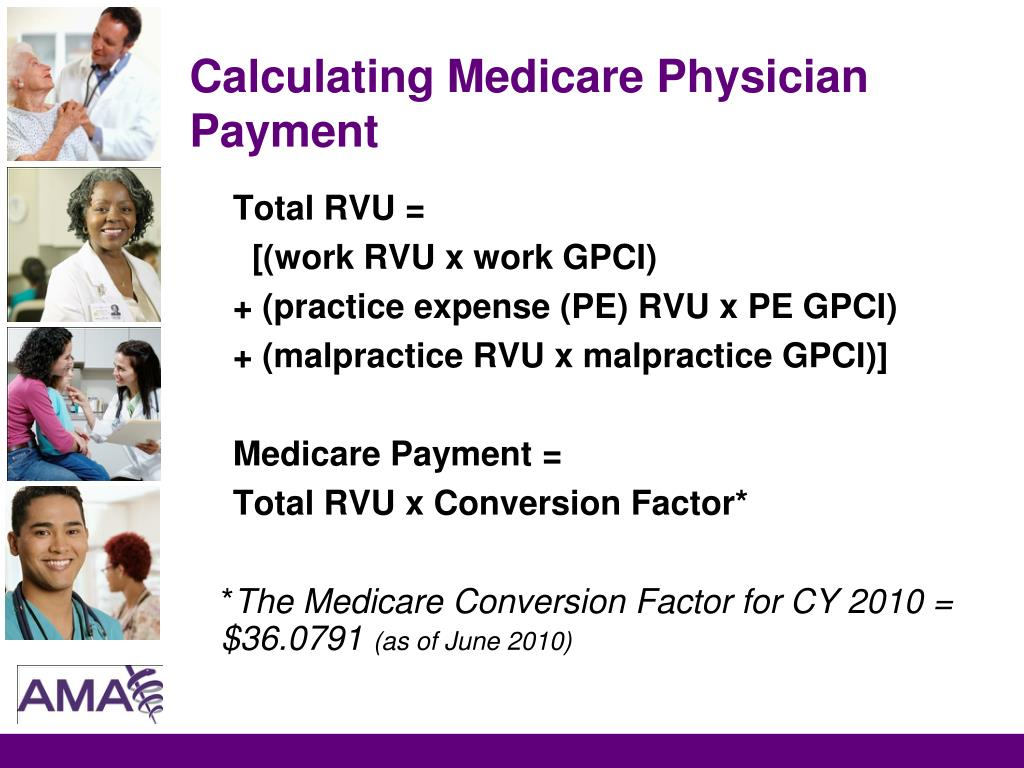 Calculating Medicare Physician