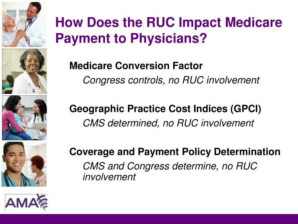 How Does the RUC Impact Medicare Payment to Physicians?