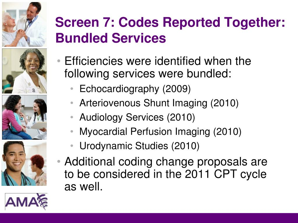 Screen 7: Codes Reported Together: