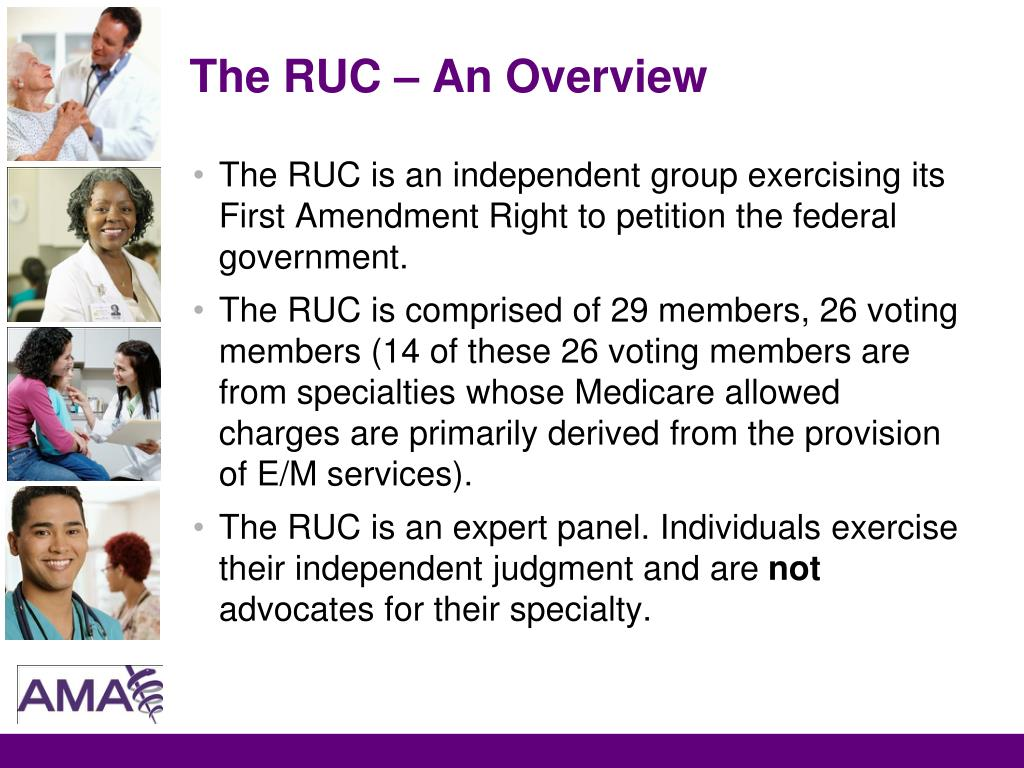 The RUC – An Overview