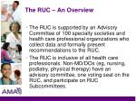 the ruc an overview5