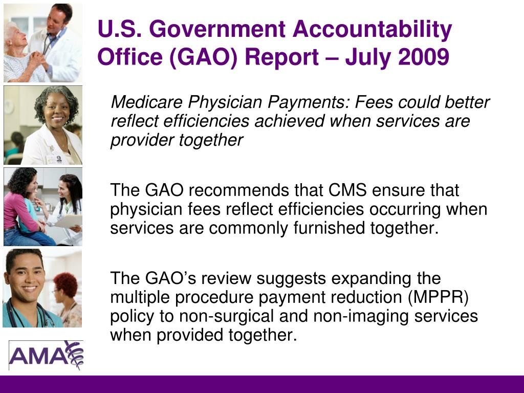 U.S. Government Accountability Office (GAO) Report – July 2009