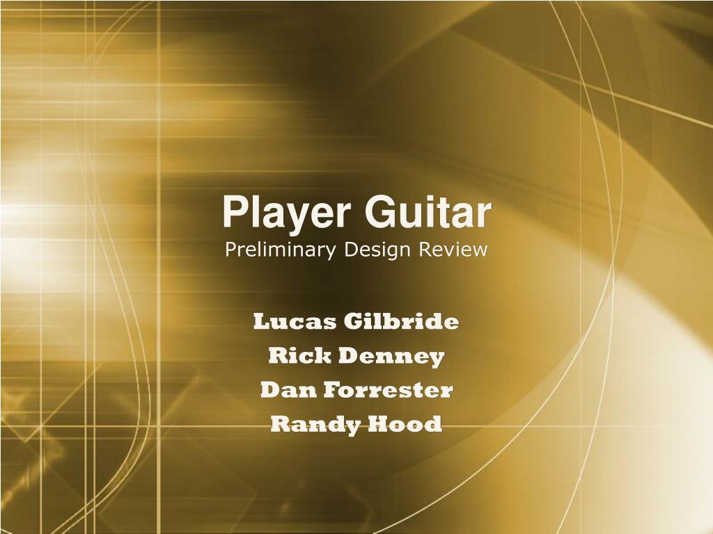 Player Guitar