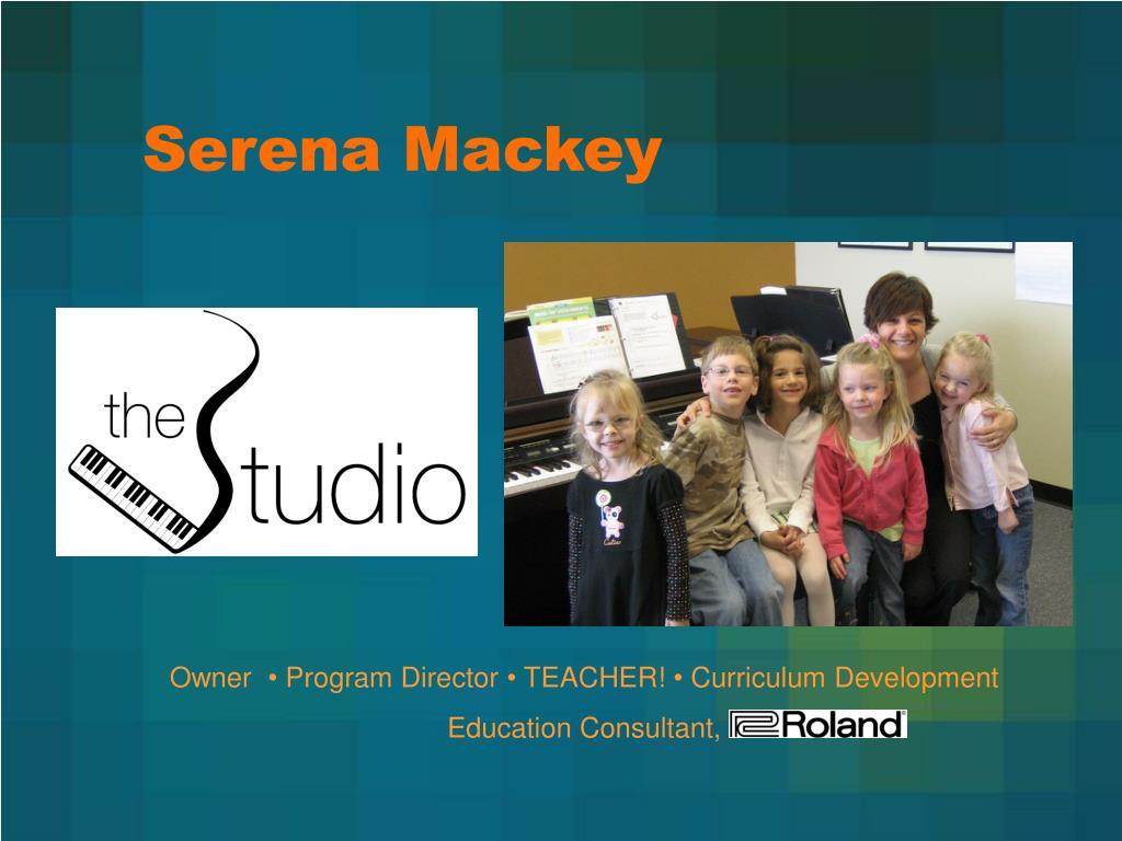 Serena Mackey