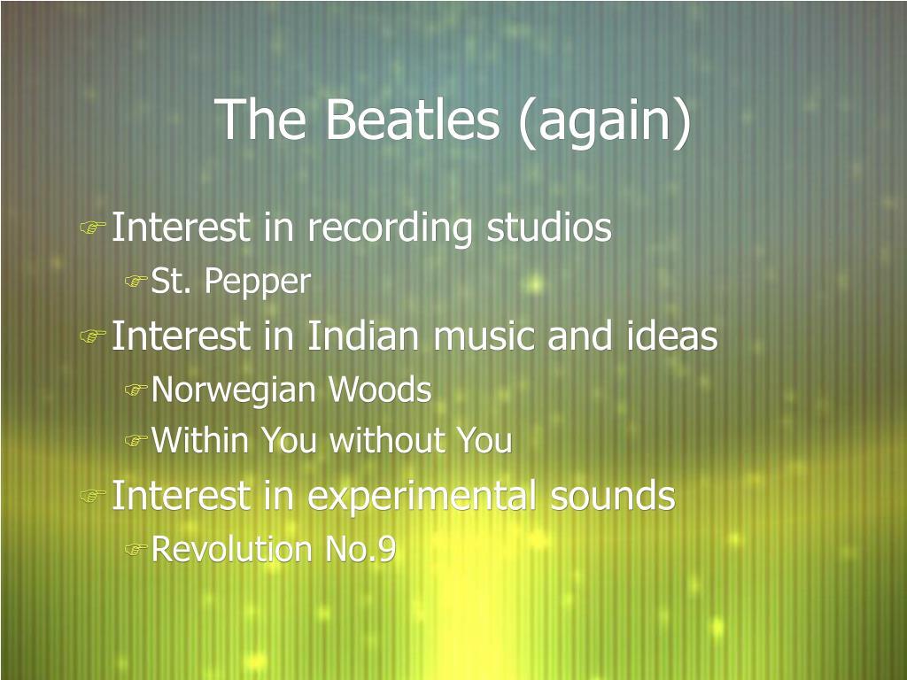 The Beatles (again)