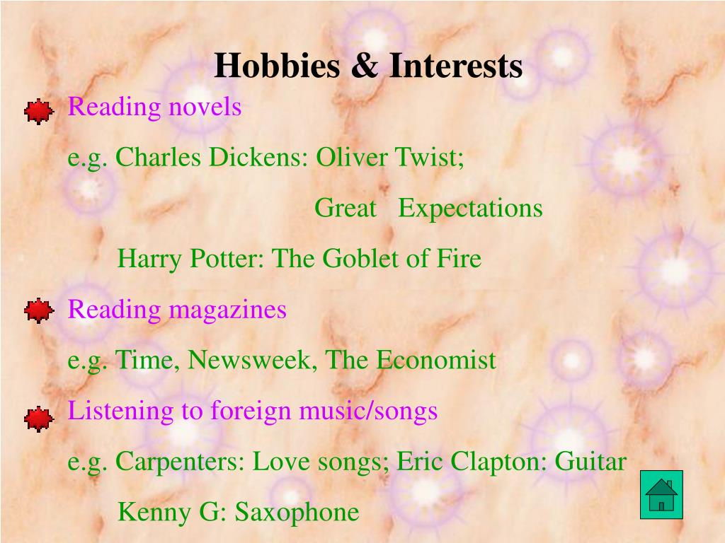 Hobbies & Interests