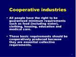 cooperative industries