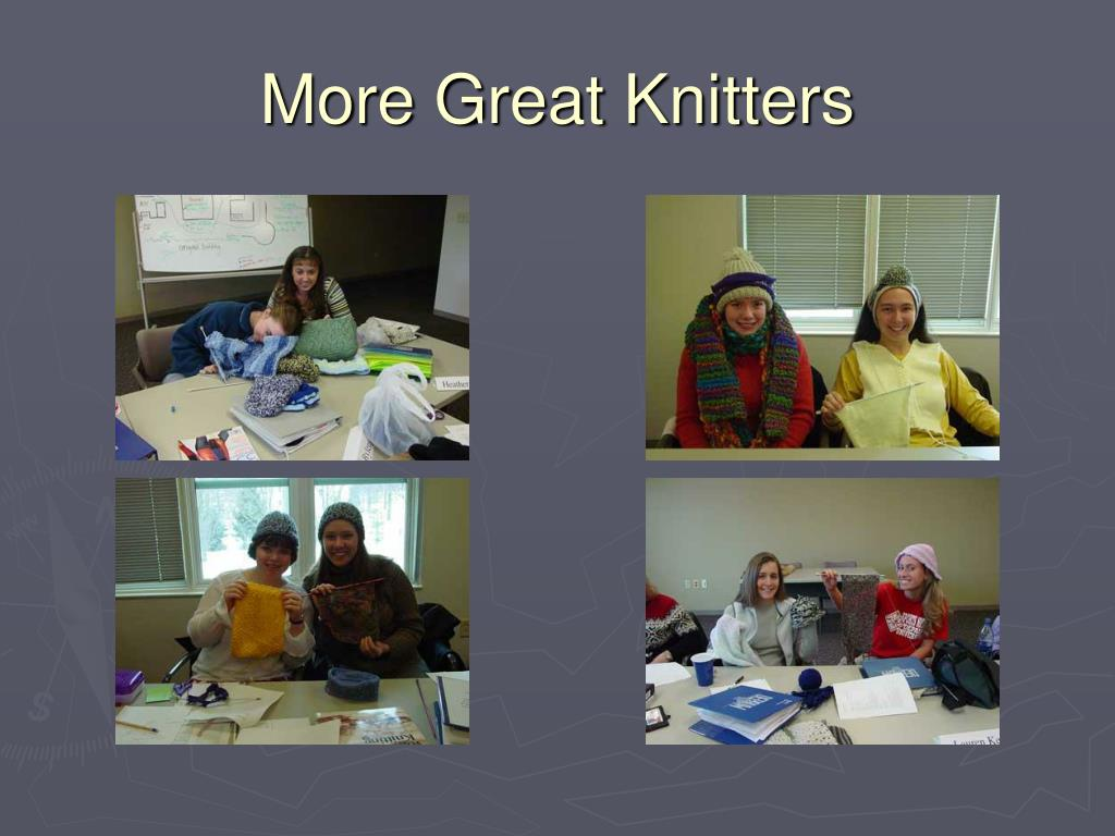 More Great Knitters