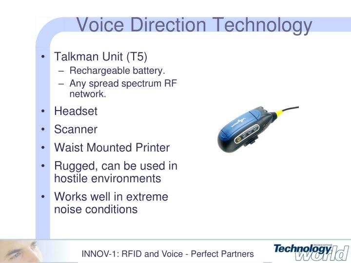 Voice Direction Technology