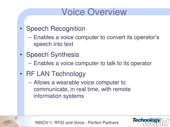 Voice Overview