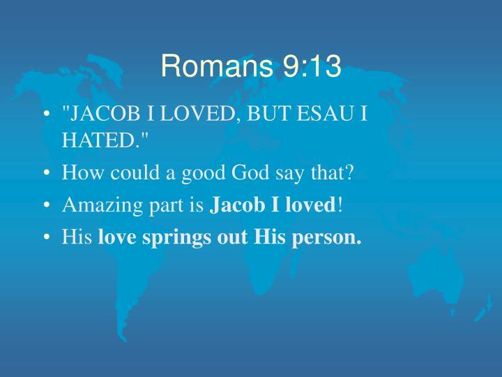 Romans 9:13