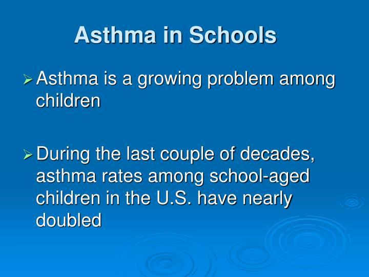 Asthma in Schools