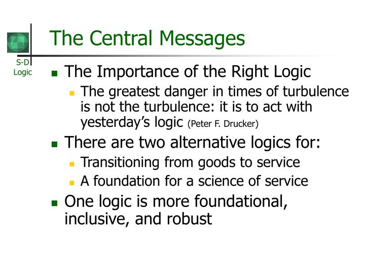 The Central Messages
