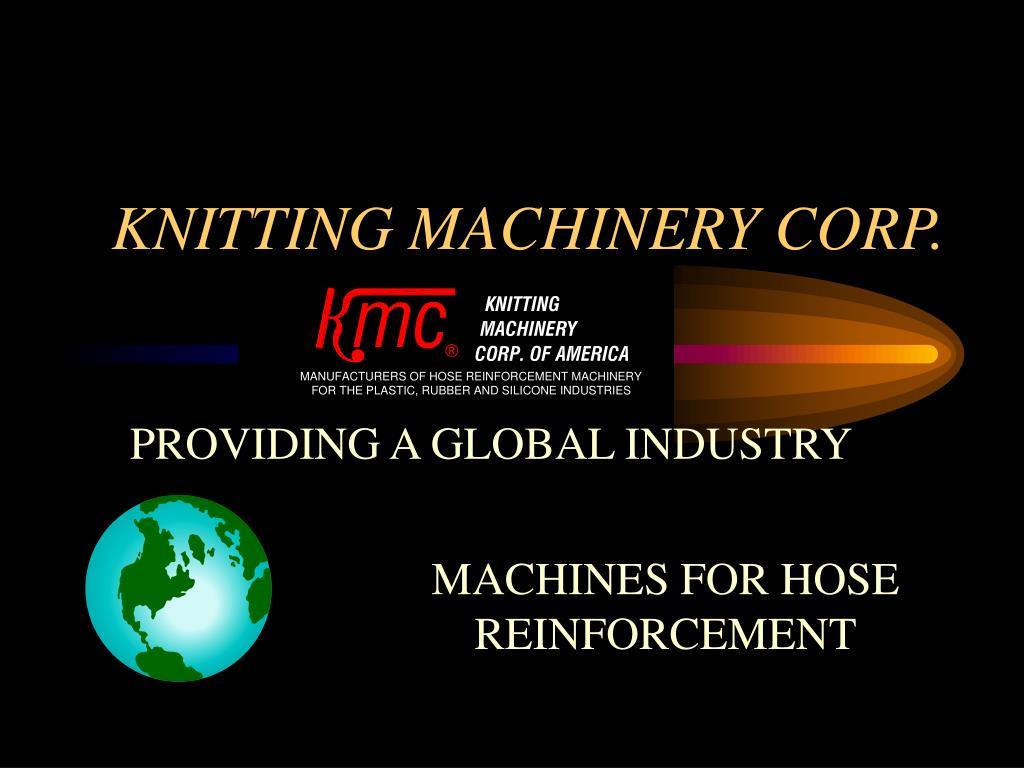 KNITTING MACHINERY CORP.