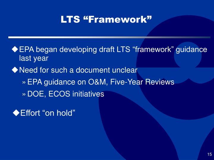"LTS ""Framework"""