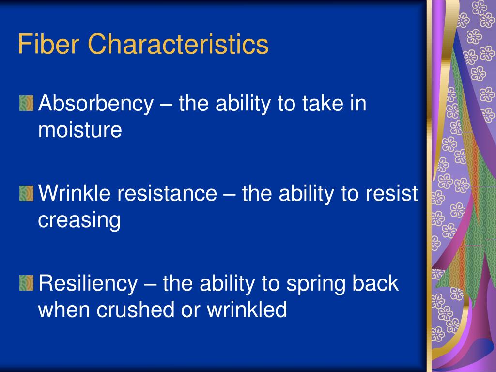 Fiber Characteristics