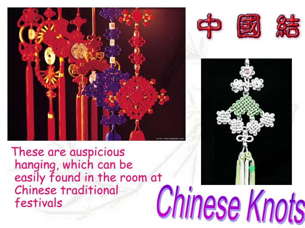 These are auspicious hanging, which can be easily found in the room at Chinese traditional festivals