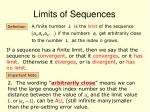 limits of sequences1