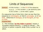 limits of sequences2