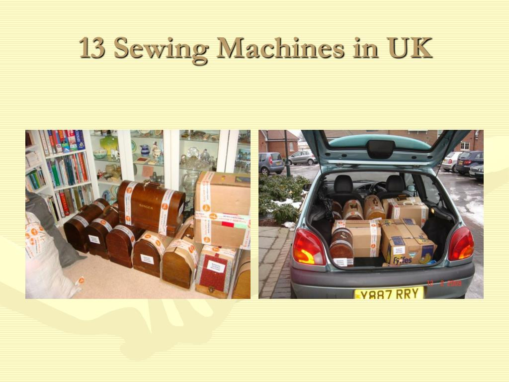 13 Sewing Machines in UK
