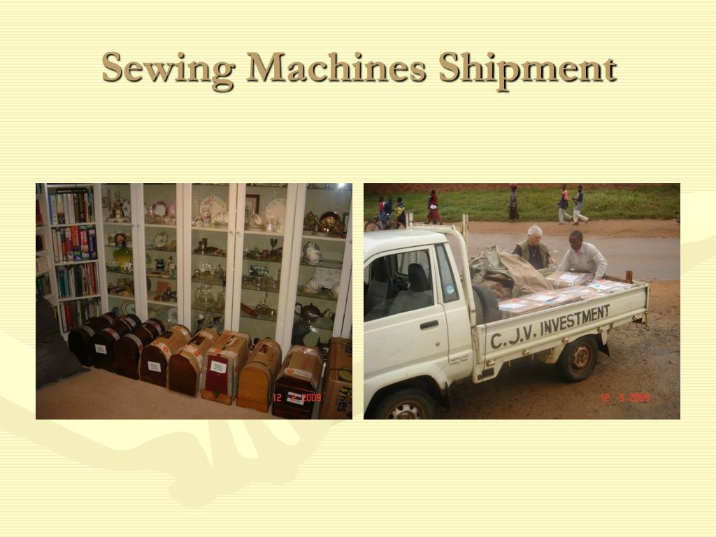 Sewing Machines Shipment