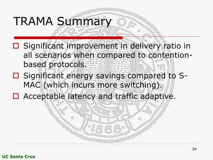 TRAMA Summary