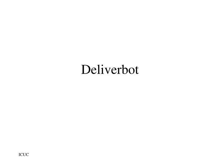 Deliverbot