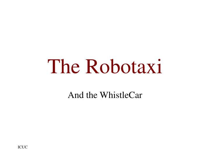 The Robotaxi