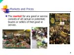 markets and prices7
