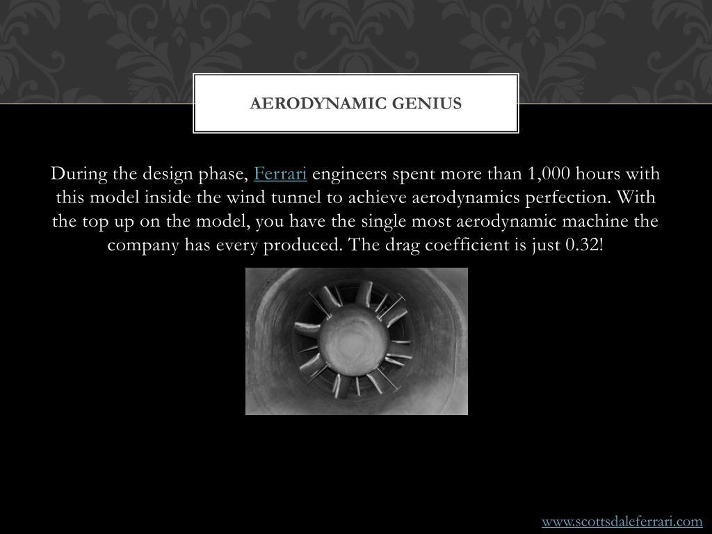Aerodynamic Genius