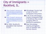 city of immigrants rockford il