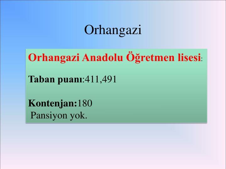 Orhangazi