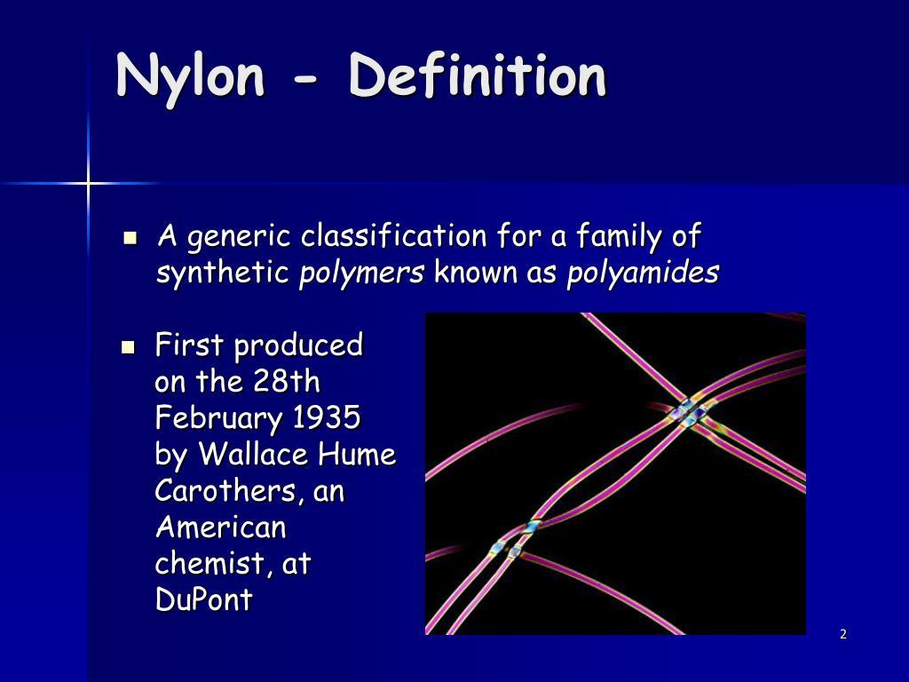 Nylon - Definition